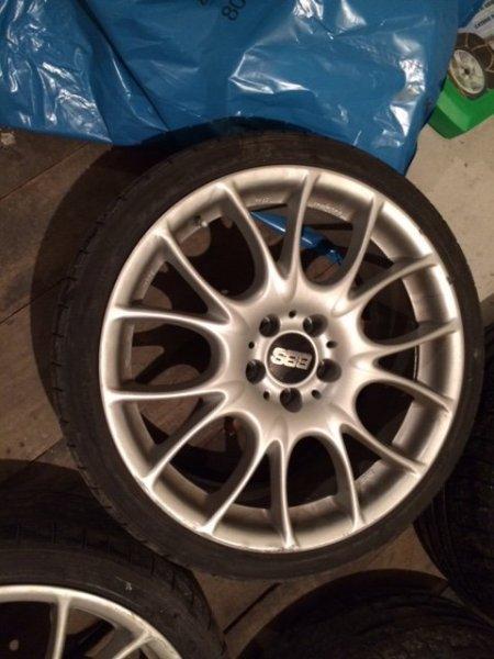 Bbs wheels 18 x 85 ch car wheel rim 5x120 part ch015bpo