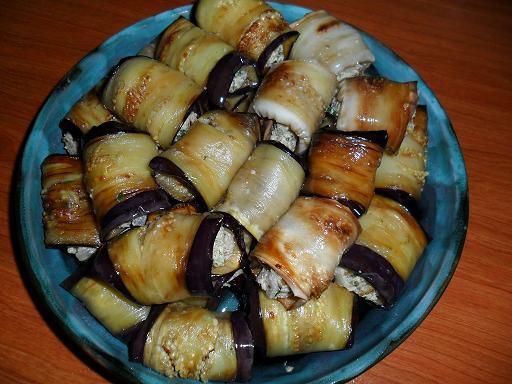 Баклажаны жареные с грецкими орехами рецепты
